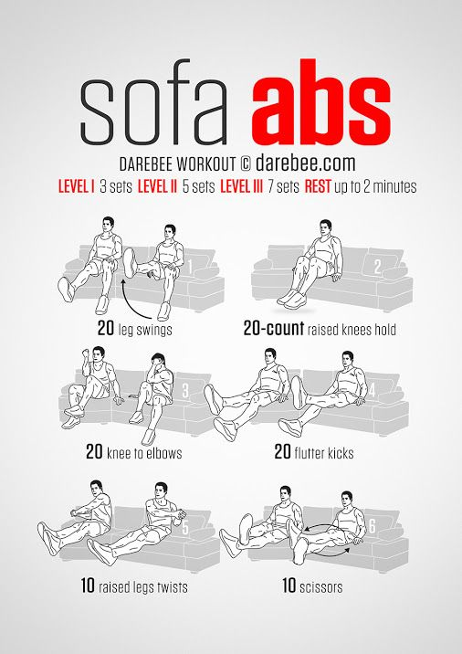 Sofa Abs Workout or Desk Chair Workout  sc 1 th 267 & Google+ | Body | Pinterest | Google Exercises and Workout