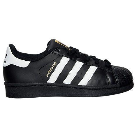 adidas superstar foundation junior blanc noir