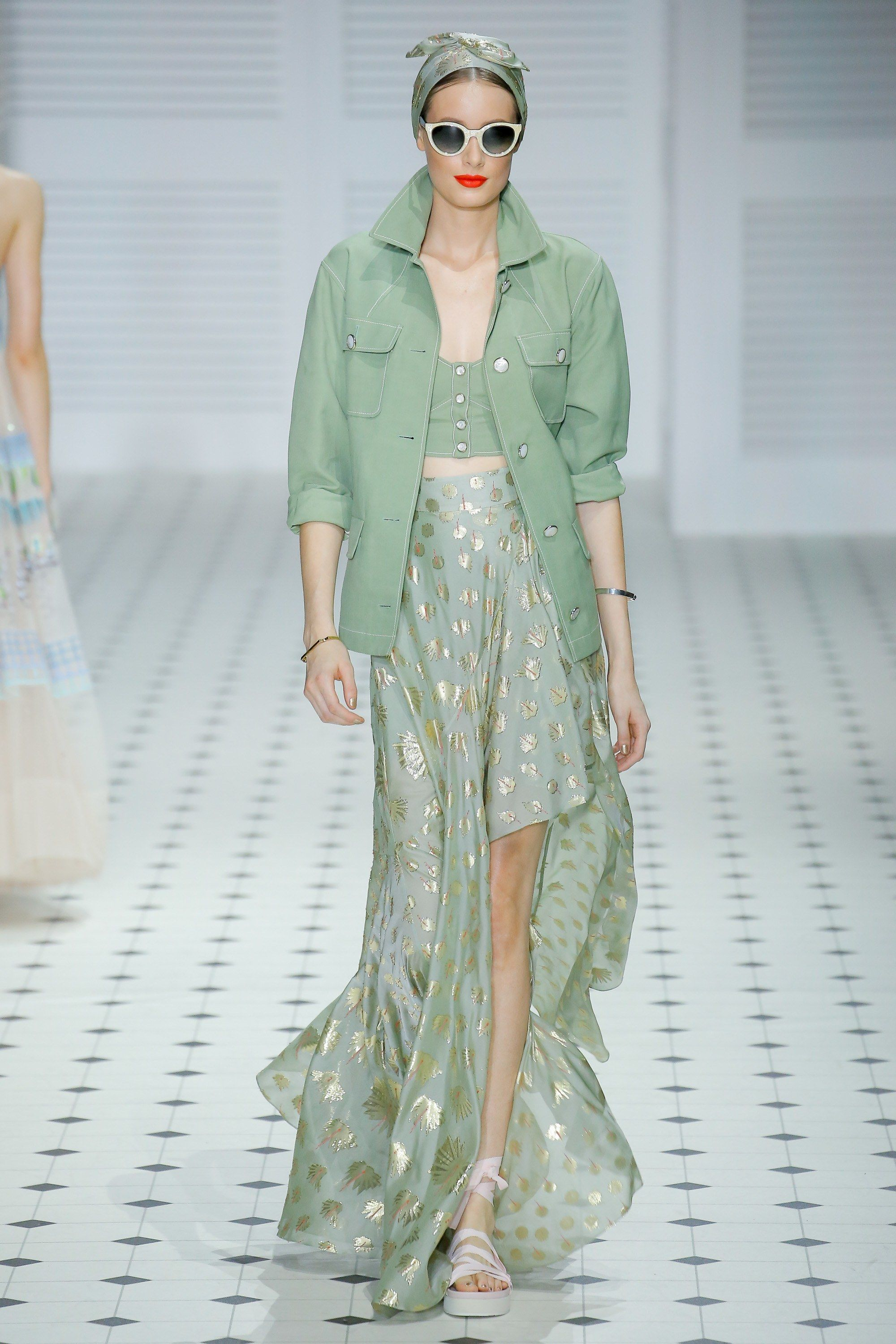 Spring Trends 2020.Mint The Spring Summer 2020 Colour Trend Fashion London