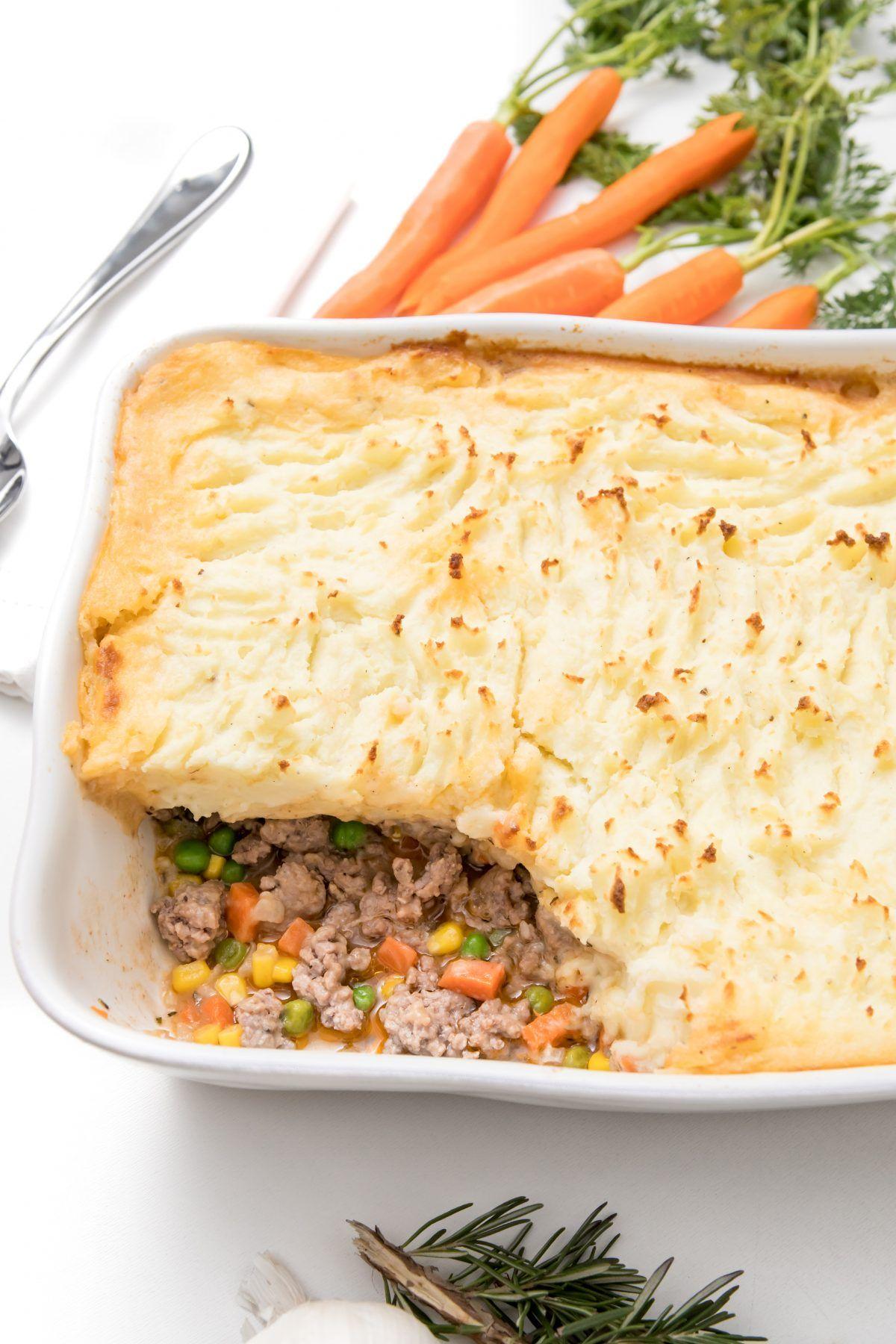 Alton Brown S Shepherd S Pie Recipe Shepherds Pie Alton Brown Shepherds Pie Lamb Recipes