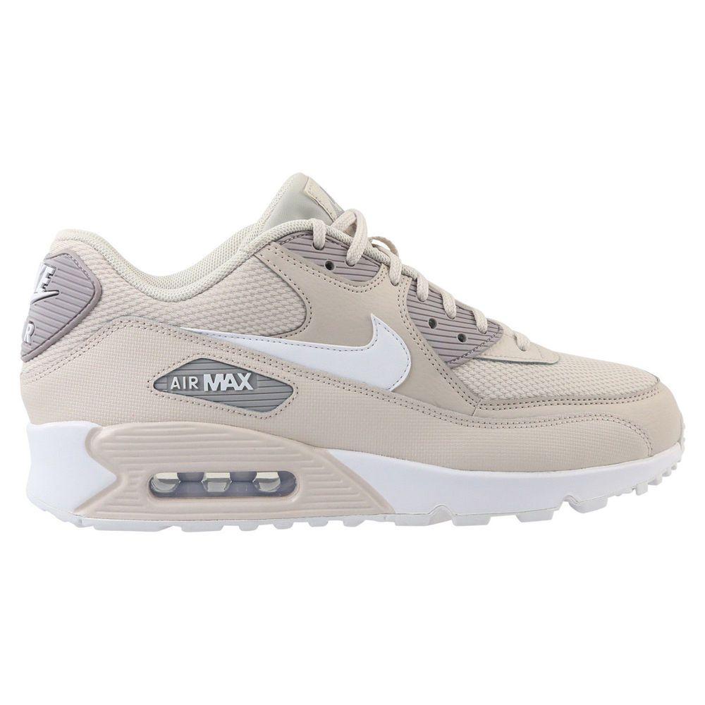 sale retailer 77b7c 80d03 Nike Air Max 90 Women s Running Shoes Size 8.5 US White Desert Sand