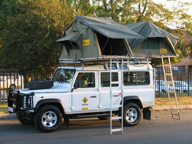 vehicle roof c&ing tents - use two tents for larger families · Land RoversC&ersClassic ... : roof tent land rover - memphite.com