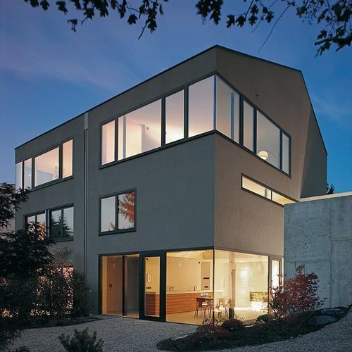 Doppelhaus in friedrichshafen friedrichshafen for Doppelhaus moderne architektur