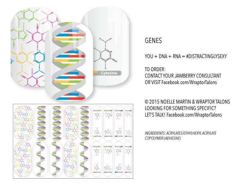 DNA & RNA nail wraps! Perfect for science teachers! noellemartin ...