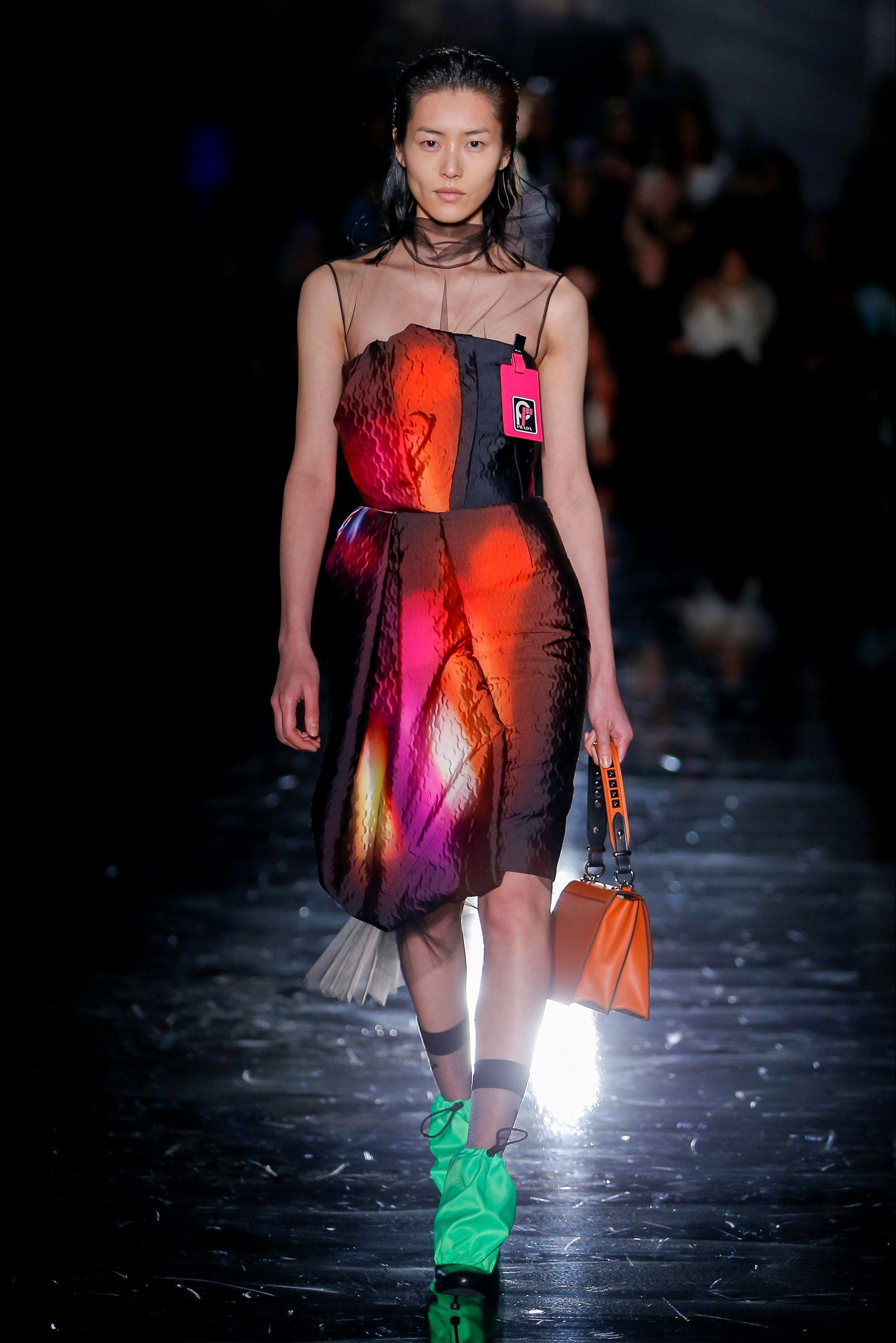 big sale 571b2 4e7f8 Guarda la sfilata di moda Prada a Milano e scopri la ...