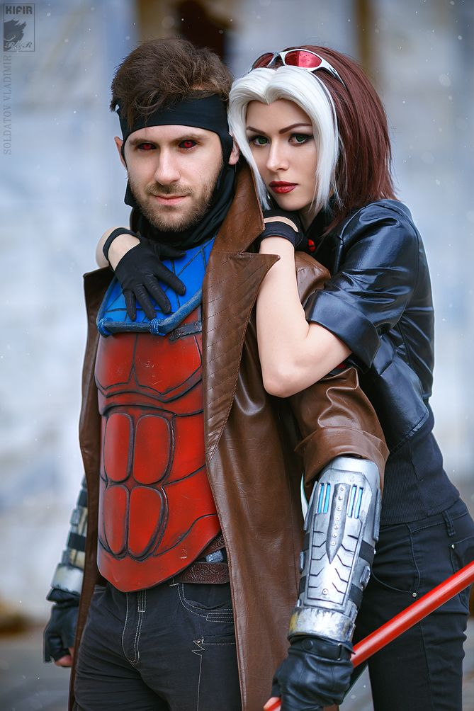 Gambit left and rogue right from x men cosplayers ryoko demon free website for submitting cosplay photos and is used by cosplayers in countries all around the world even if youre not a cosplayer yourself you can solutioingenieria Gallery