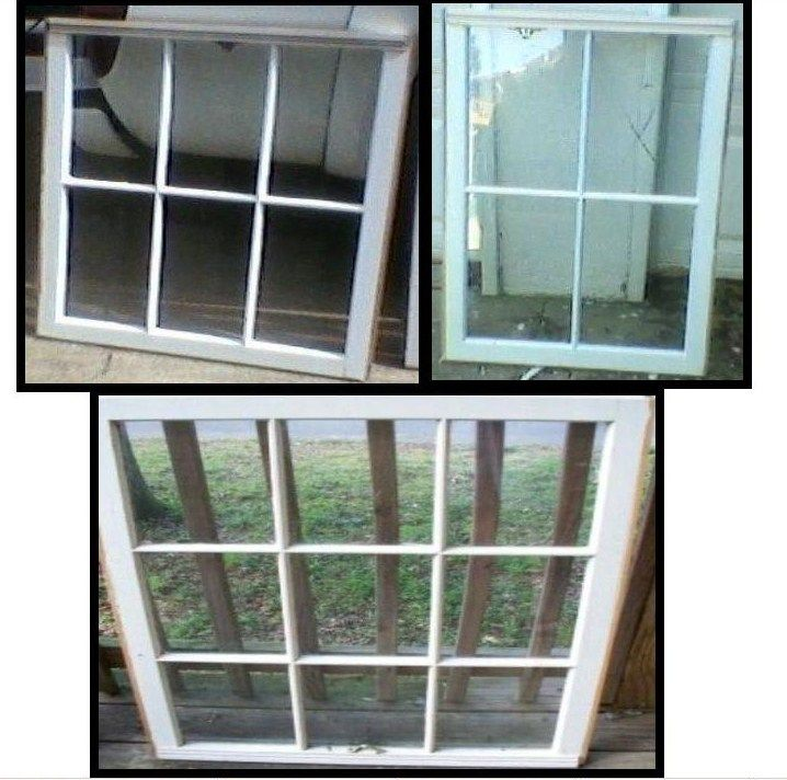 Old Wood Windows For Sale - Only $5 Each ~ Many To Choose From ...
