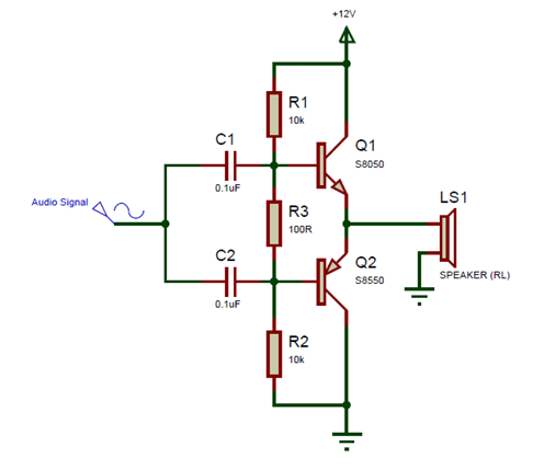 s8050 transistor circuit diagram  electronics projects for