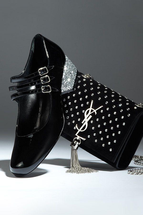 Here Now: Saint Laurent Fall Shoes & Handbags