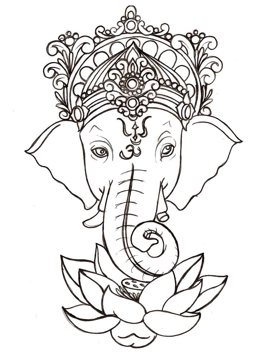 11 Ganesha Tattoo Designs Ideas And Samples - Ganesh tattoo he is believed to be the of removing obstacles i want