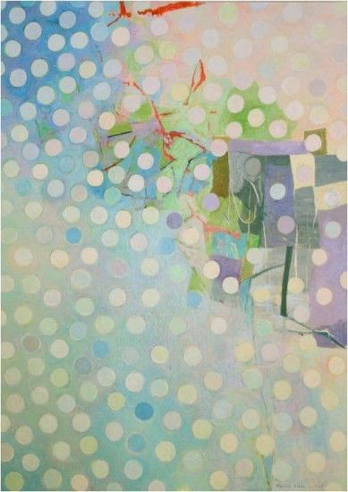 Keiko Hara | ebo Gallery. #Dots #abstract #art