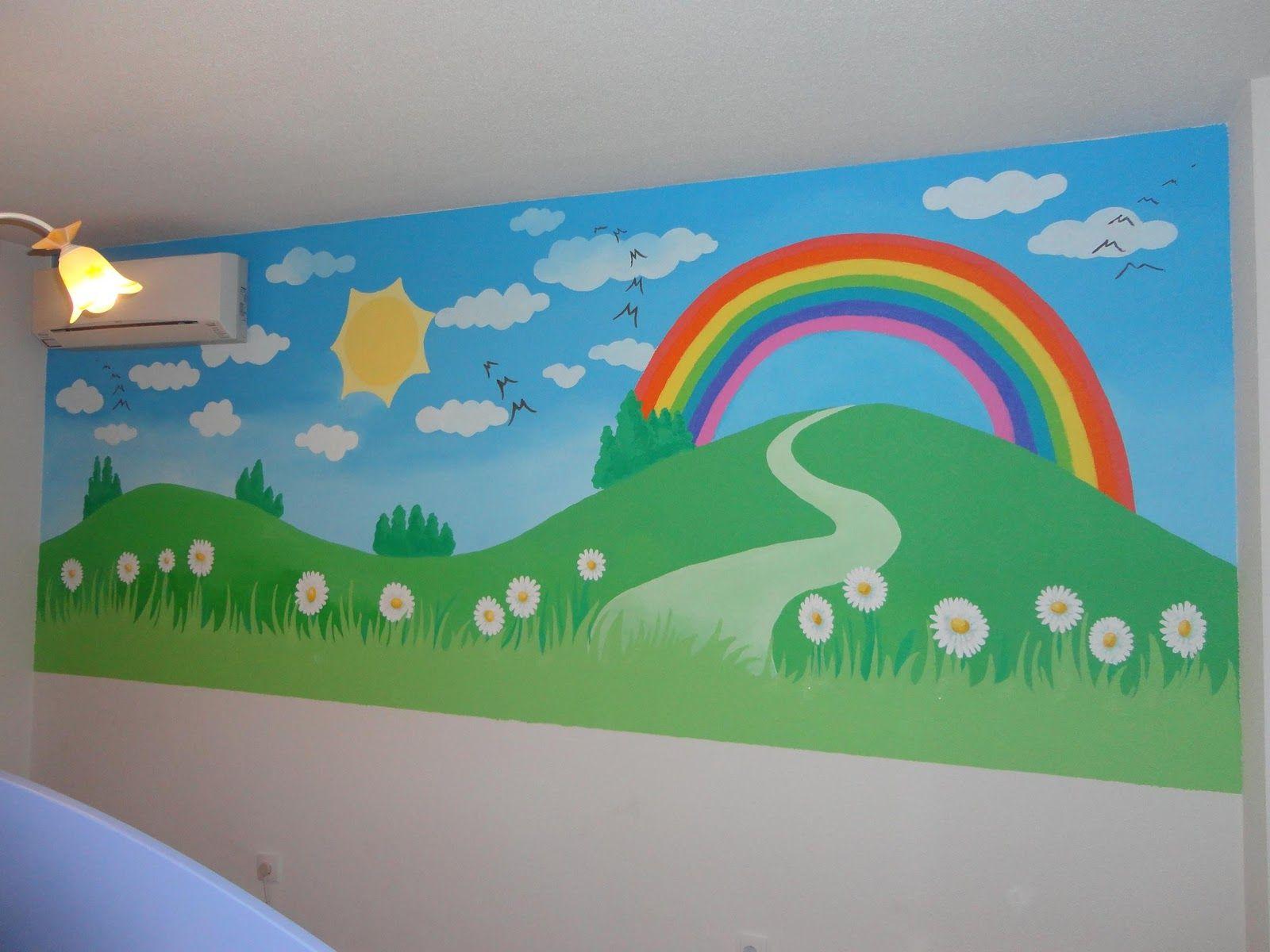 Resultado De Imagen Para Murales Infantiles Para Colegios  ~ Murales Decorativos Para Habitaciones De Adultos