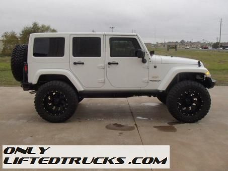 New Lifted 2015 Jeep Wrangler Unlimited SUV Sahara  Truck