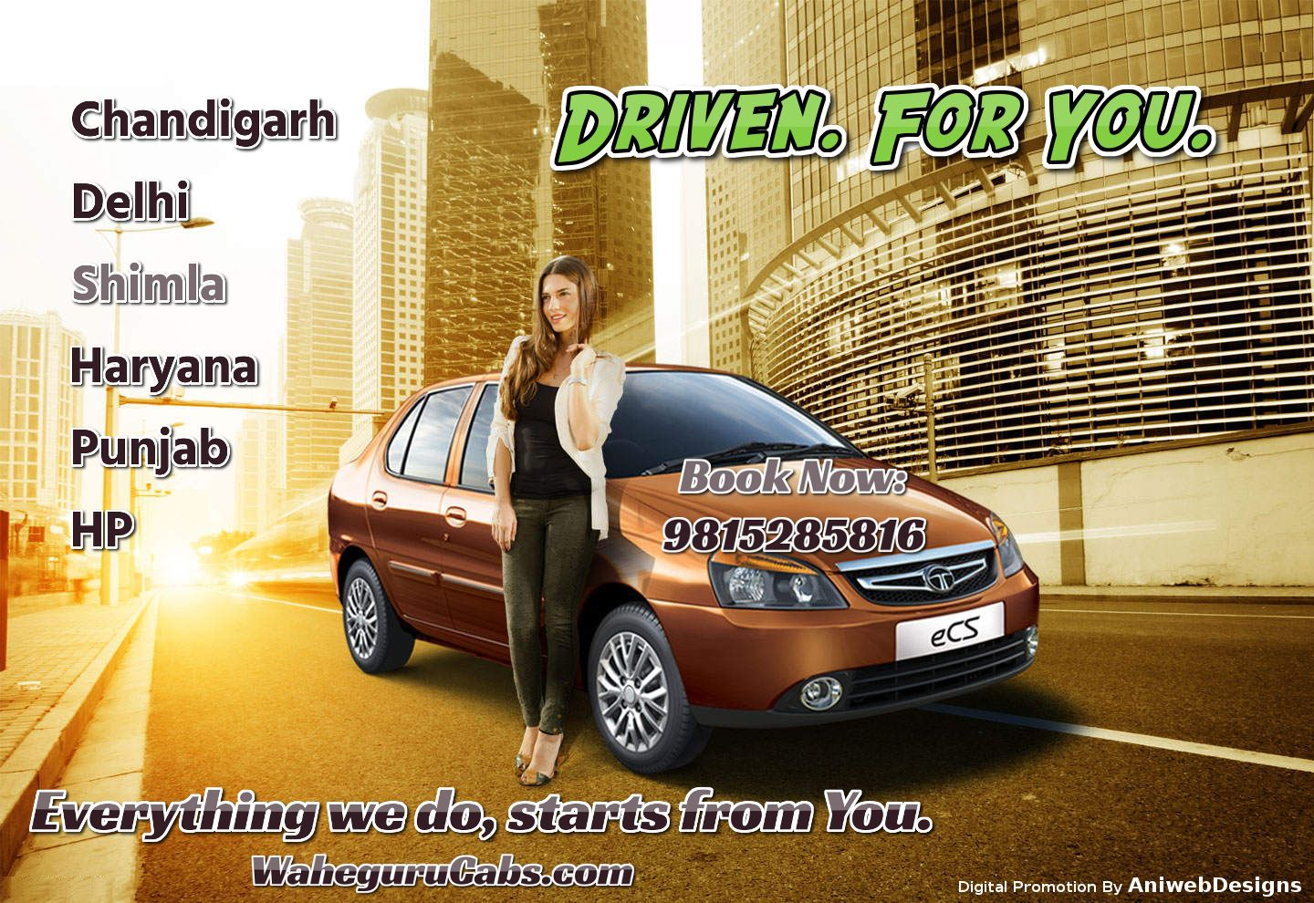 Wahegurucabs Provides Car Rental In India Book Taxi Or Cabs