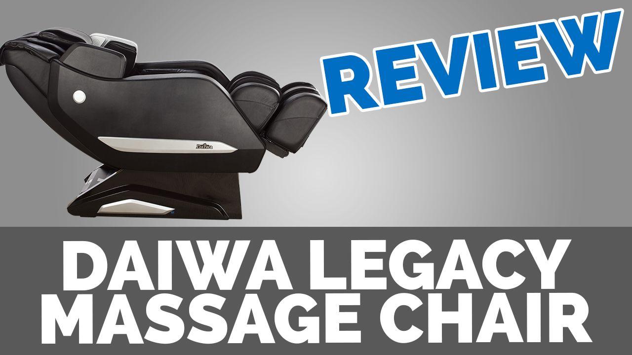 Daiwa Legacy Massage Chair Reviews Massage chair, Chair