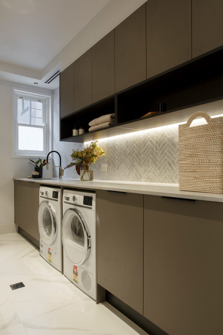 55 Beautifully Inspiring Laundry Room Cabinets Ideas In 2020