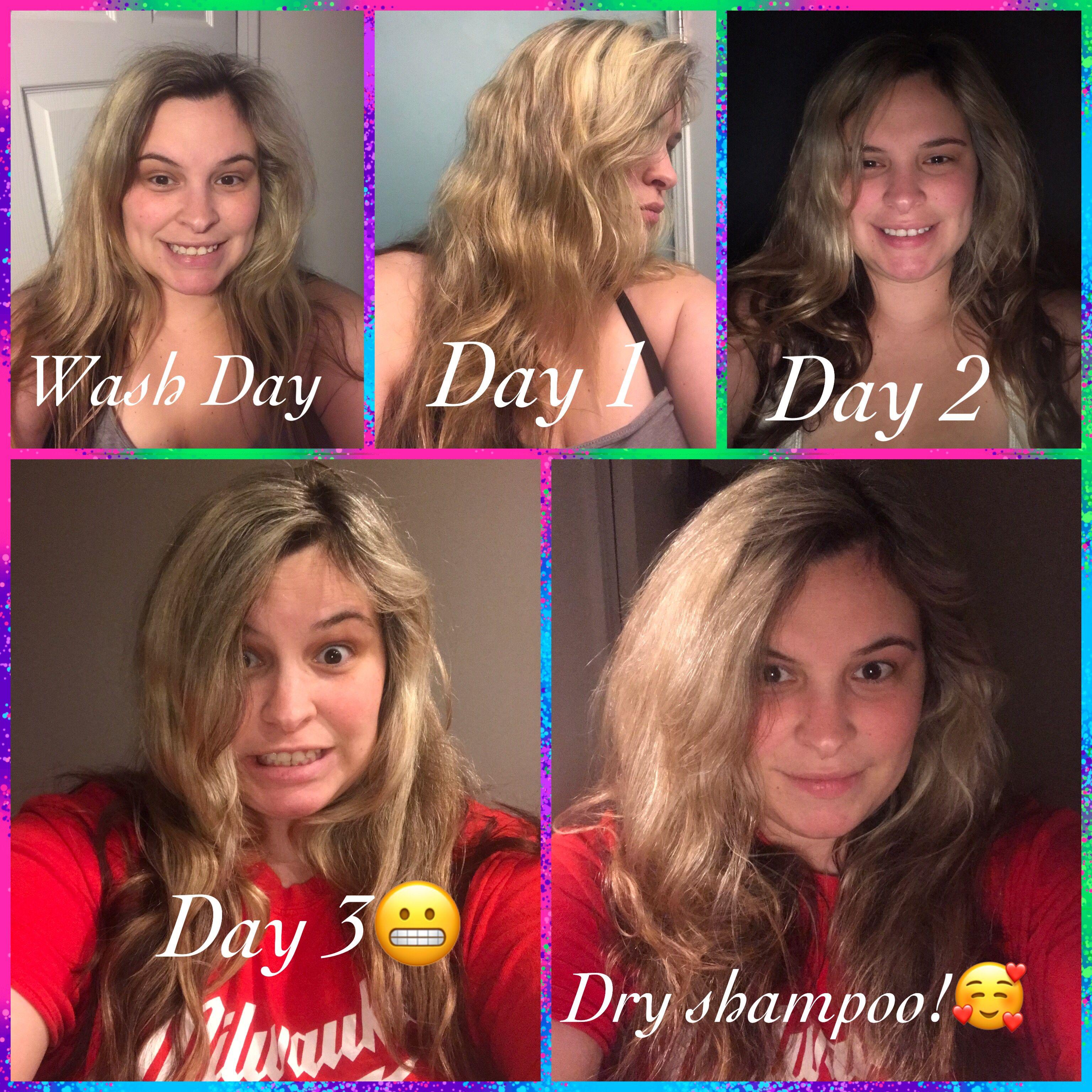 How long can you go healthy hair journey dry shampoo