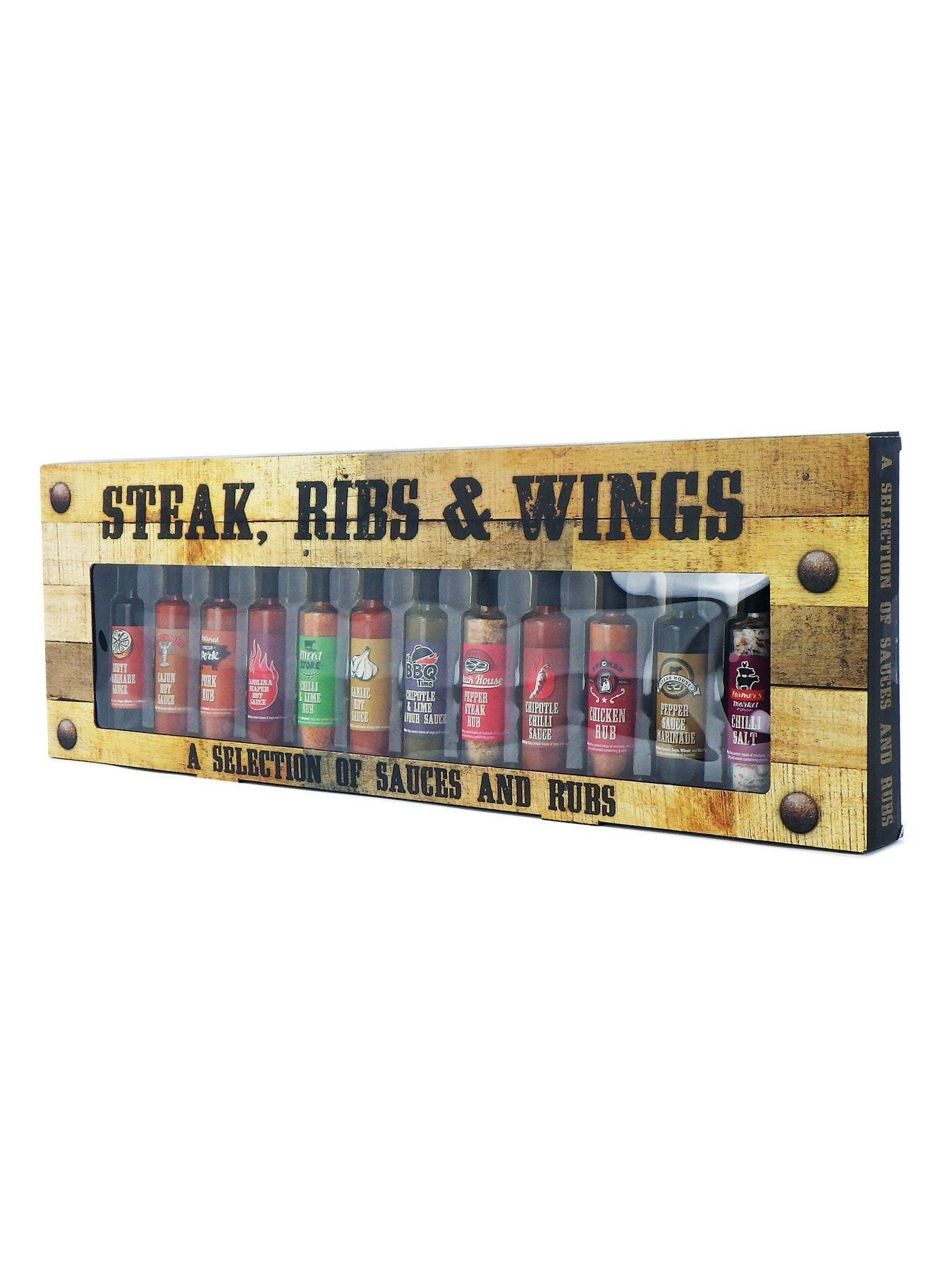 12 Steak Rub Sauce Set - One Colour - #steakrubs 12 Steak Rub Sauce Set - One Colour - #steakrubs