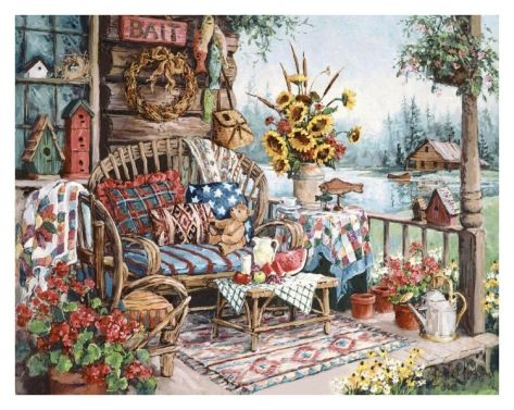 Country Hideaway   Barbara Mock