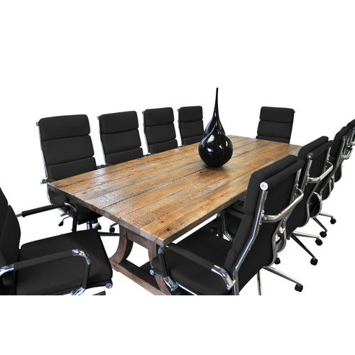 Found It At AllModern Piece Ligna Rectangular Conference - Conference room table set
