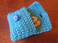 Collection of Crochet Stitches: Pattern: Easy Coin Purse/Wallet