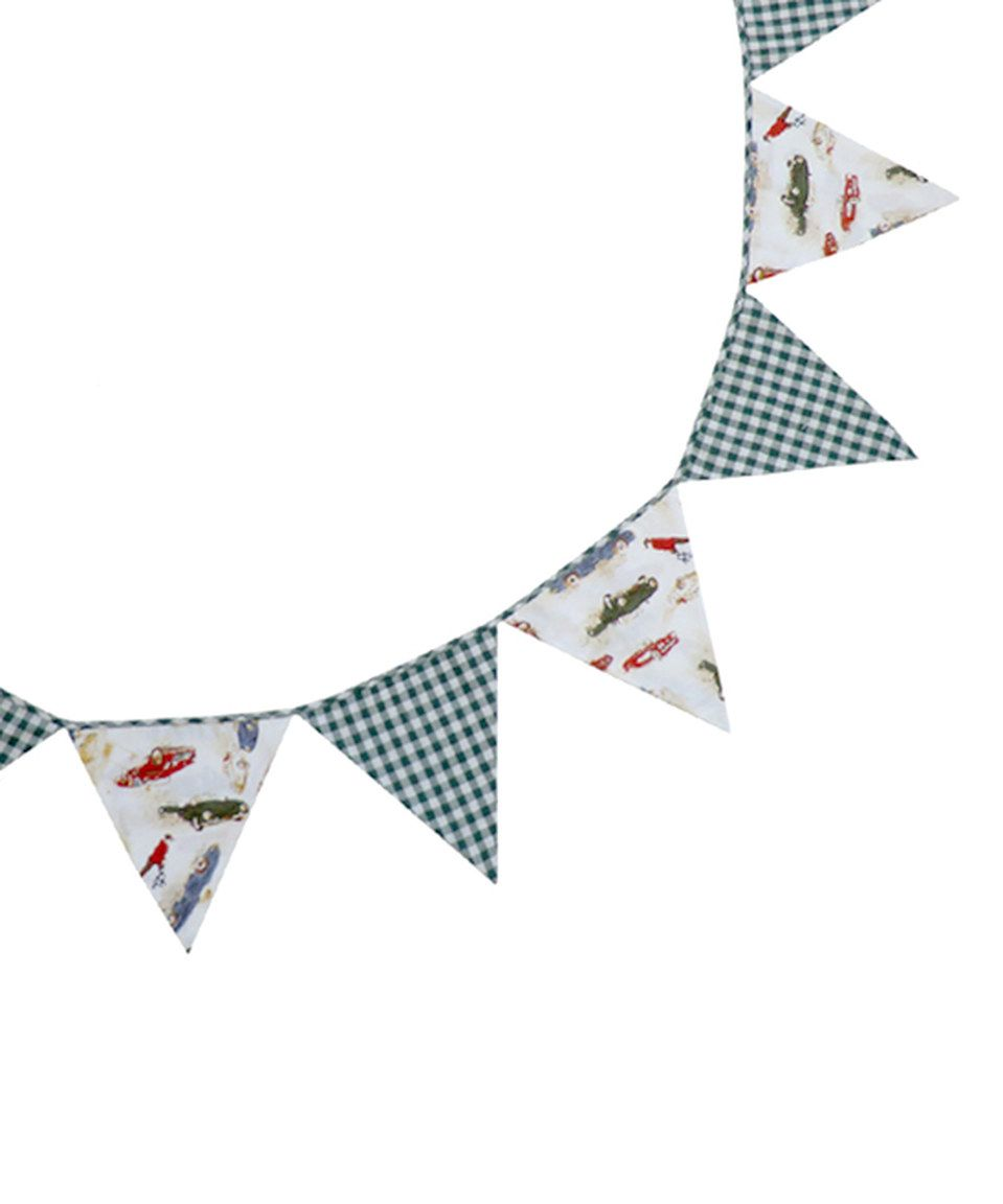 Another great find on #zulily! Powell Craft 10' Vintage Racing Car Bunting by Powell Craft #zulilyfinds