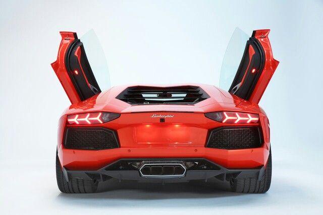 Back View Lamborghini Aventador Fcsc 250 Week 09 Pinterest