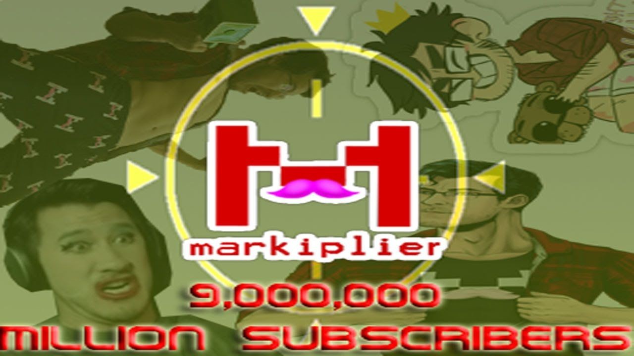 Markiplier 9 Million Subscribers Congrats