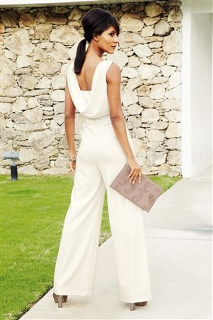 Buy Ivory Jumpsuit From The Next Uk Online Shop Wedding Guest