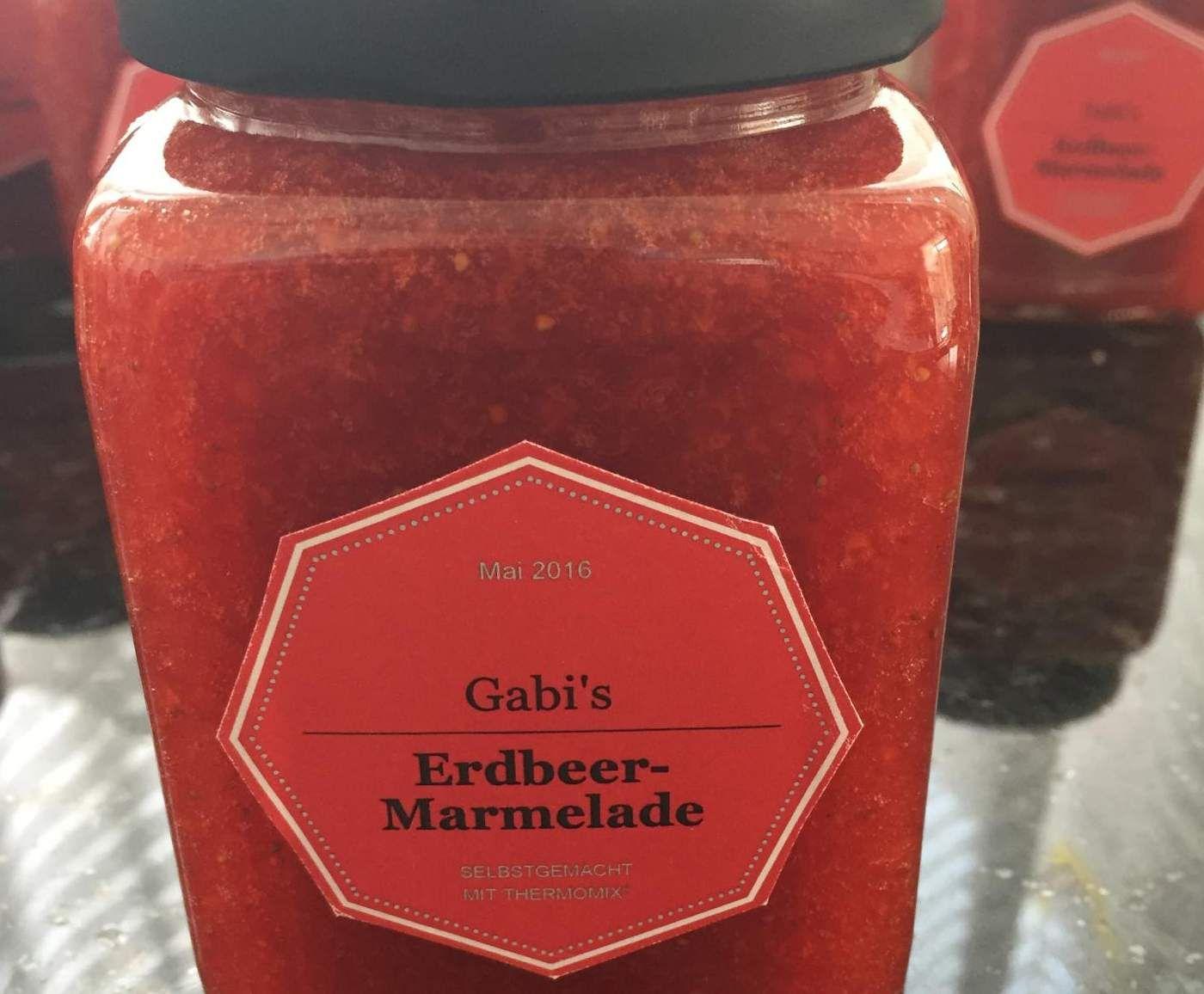 Rezept Gabi's Erdbeer-Marmelade ohne Stücke von uwepump - Rezept der Kategorie Saucen/Dips/Brotaufstriche