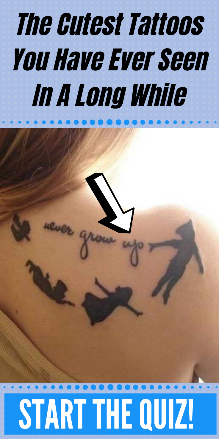 The Cutest Tattoos You Have Ever Seen In A Long While