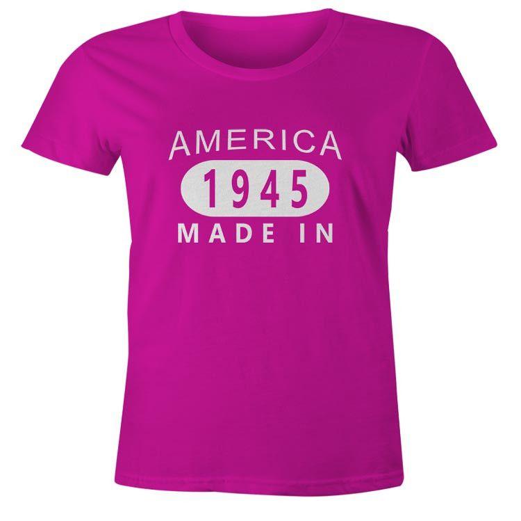 Womens 71st Birthday T-Shirt