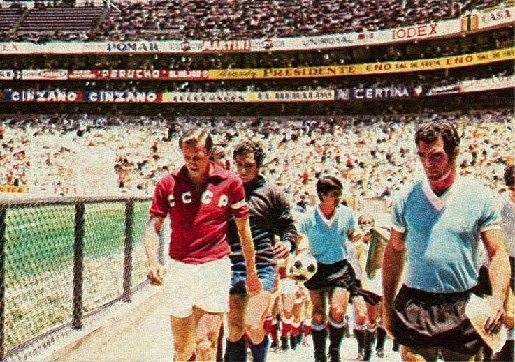 Image result for uruguay vs urss 1970