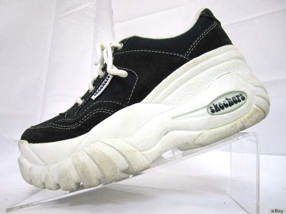 c9f6591704aa 1998 sketchers platform sneakers---pretty sure these were the sneakers I  owned! Loved them!