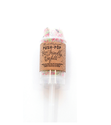 Clementine — Confetti Push Pop