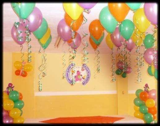 De pasos para salir airoso en una fiesta de cumplea os para ni os globos balloons pinterest - Decoracion para cumpleanos de ninos ...