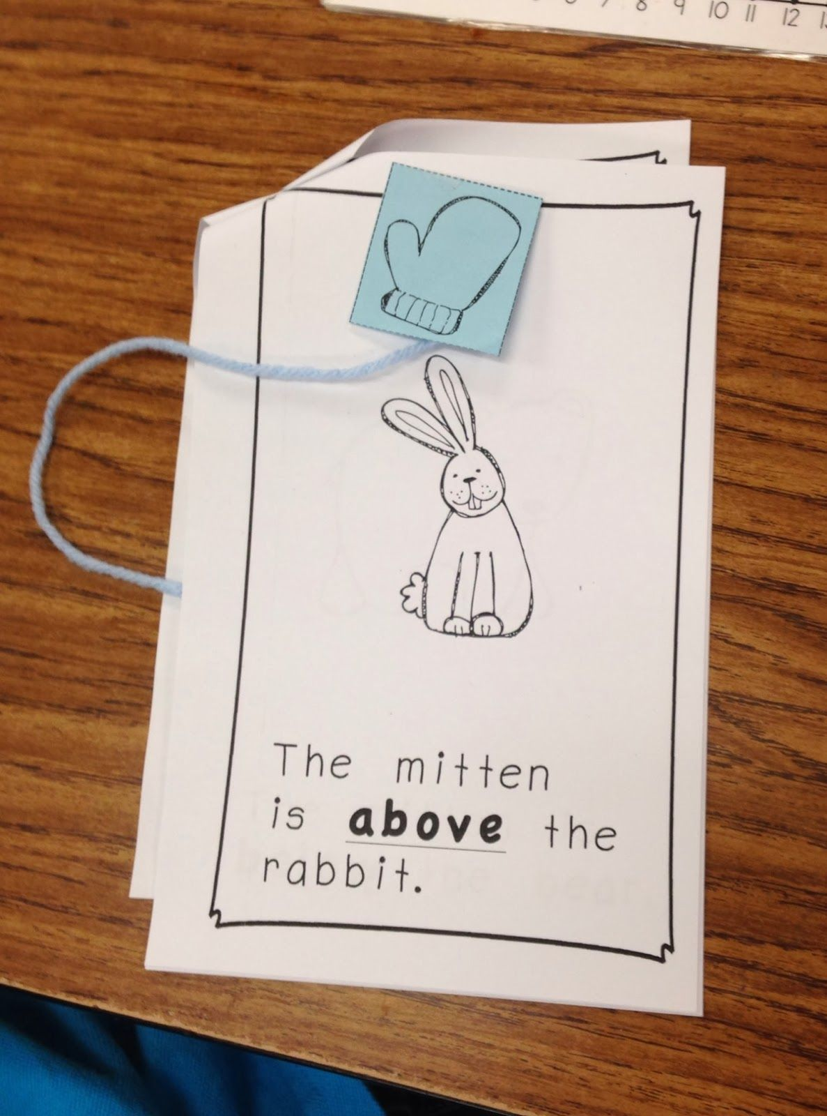 The Mitten Math And Literacy Activities