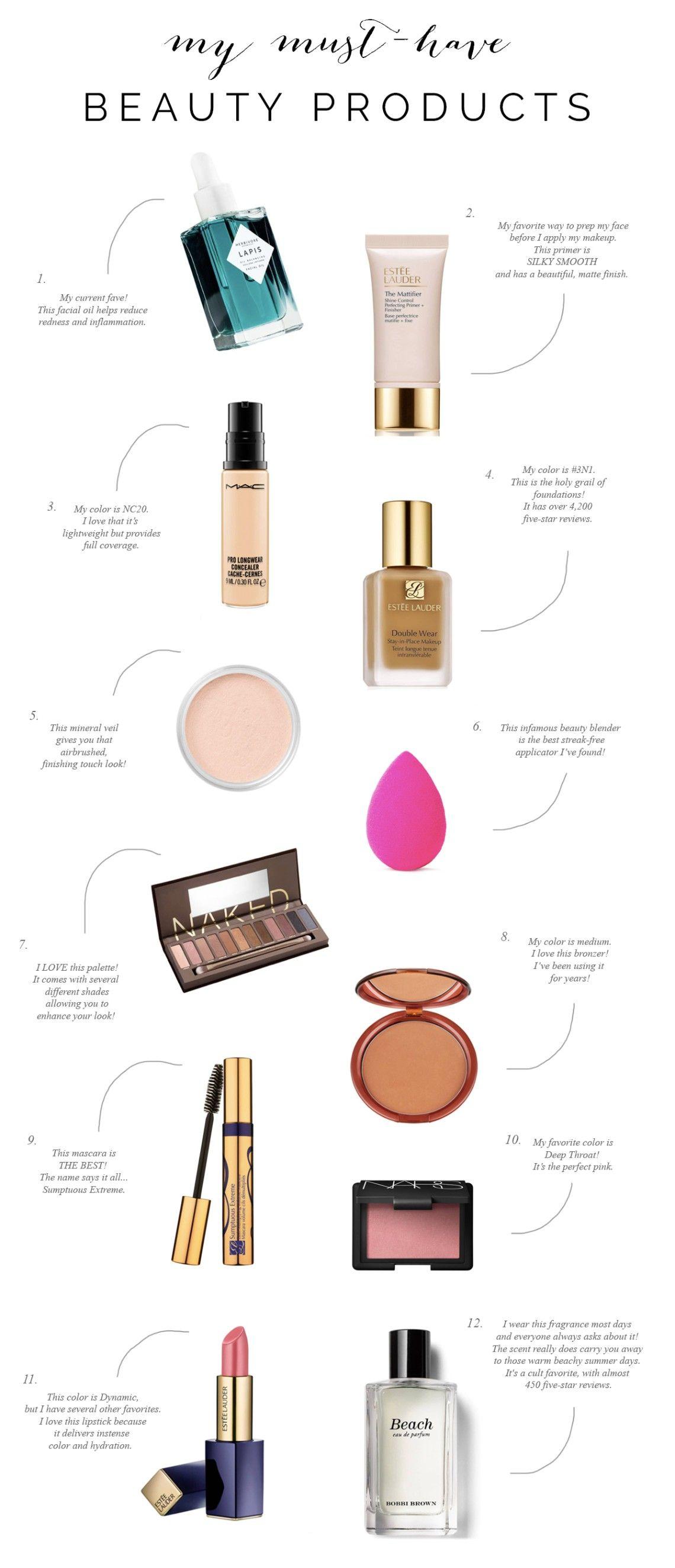Beauty Essentials | Friday Faves | Style Elixir - the blog #beautyessentials