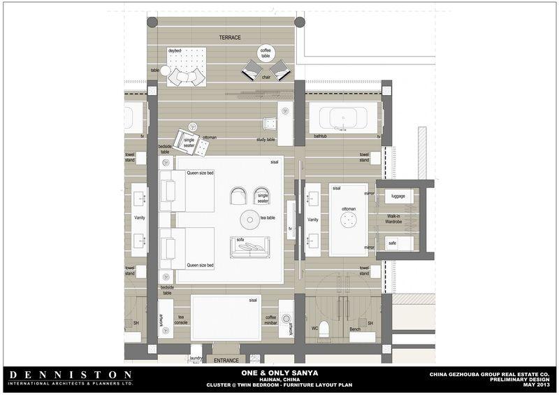 One Only Sanya House Floor Plans Interior Floor Plan House Plans