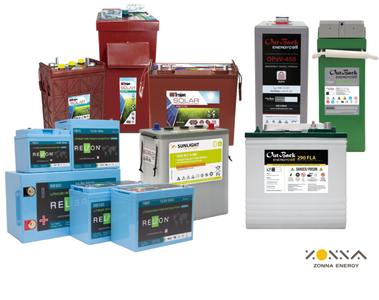 Don T Get Caught Off Guard With The Wrong Batteries In Your Off Grid Solar Installs Zonna Energy Solar Battery Sup In 2020 Solar Battery Solar Storage Batteries Solar