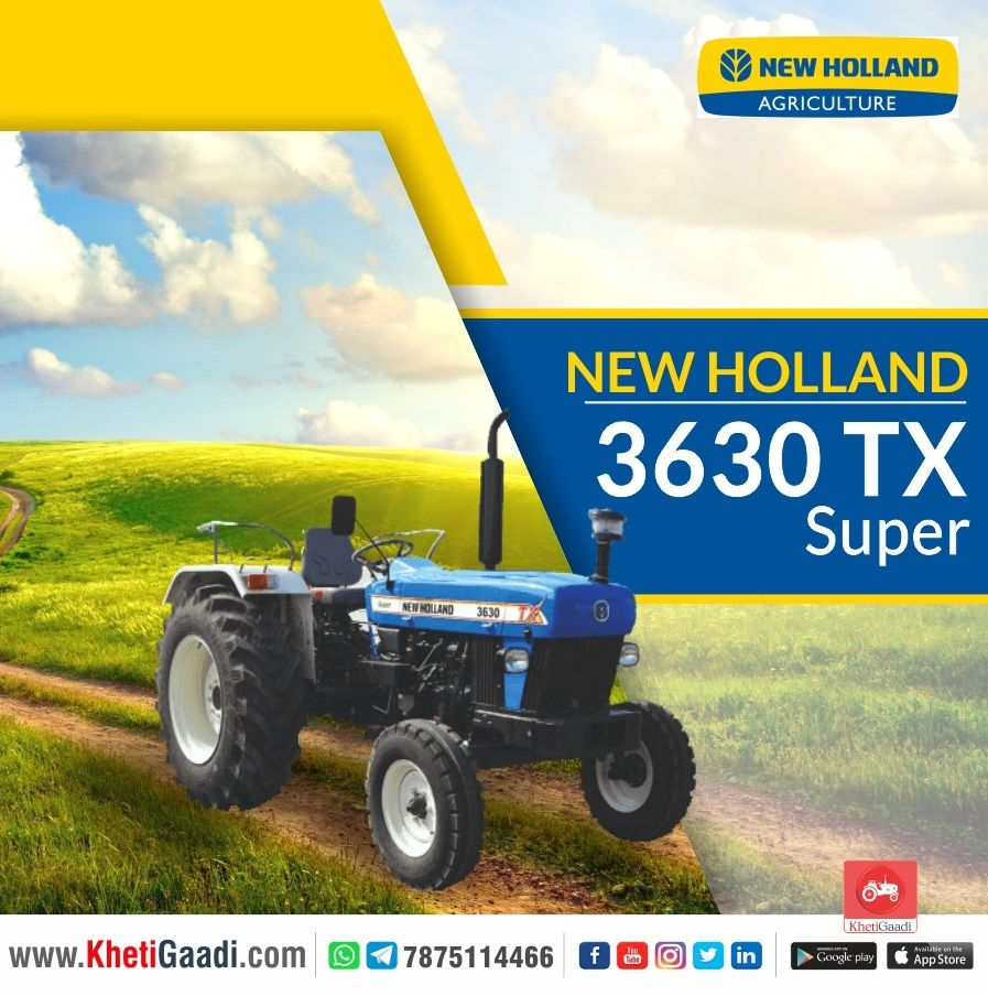 New Holland 3630 Tx Super In 2020 New Holland New Holland