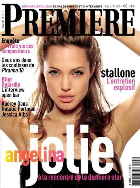 Jolie Magazine November 2017 Issue: Premiere Magazine Cover [France] (August