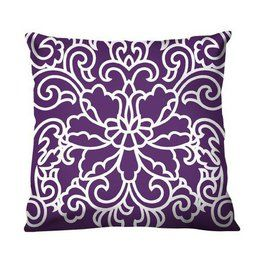 Decorative Pillow From Target Master Bedroom Ideas Pinterest Purple Throw Pillows