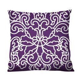 purple throw pillows at target silk
