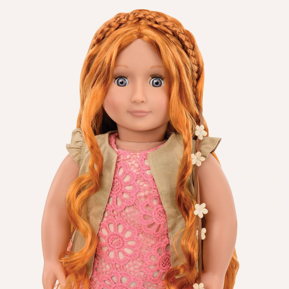 patience hairgrow our generation doll from our generation world