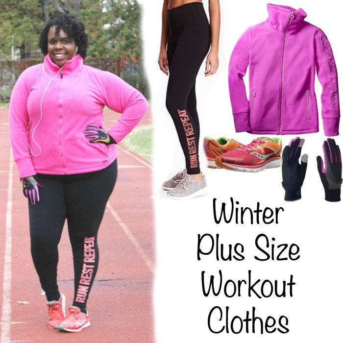 Winter Plus Size Running Gear   Plus