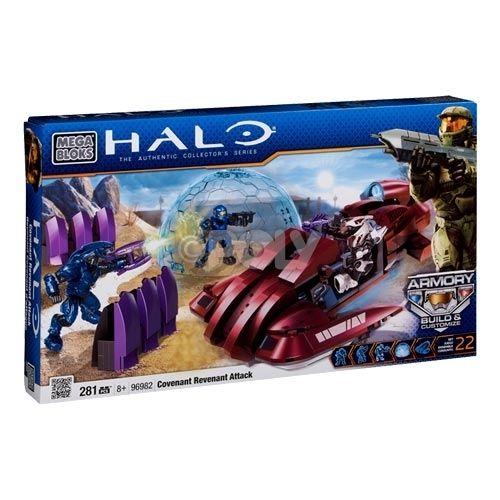 Megabloks Halo Unsc Scythe Contra Covenant Revenant Juguetes De Halo Juguetes Construccion