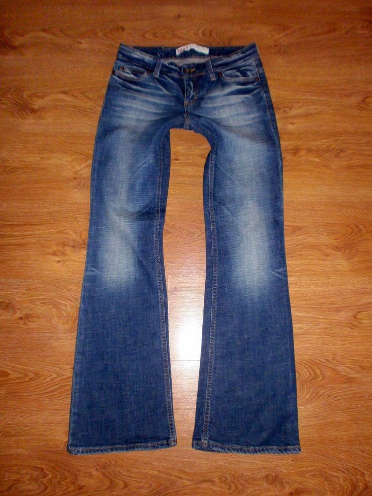 ONLY Auto Low Bootcut Jeans Gr. 38   34 W28 L34 Damen Jeanshose Wash bl 525 91b93a9164