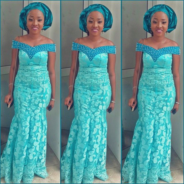 Ankara Styles 127 Show Down: Pin By Twinglestyle Qudus On Lace Style