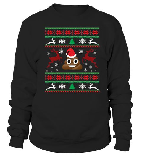 poop emoji christmas ugly sweater shirt christmas lightsoffice christmas partychristmas tree storage